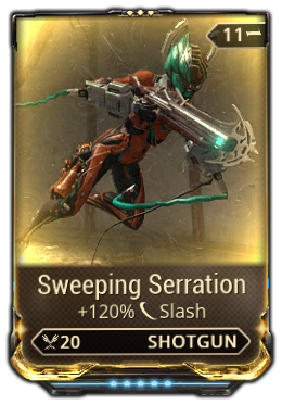 Sweeping Serration